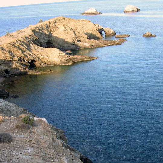 View from Camping Livadi, Folegandros