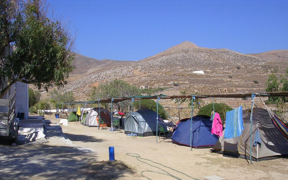 Camping Livadi at Folegandros